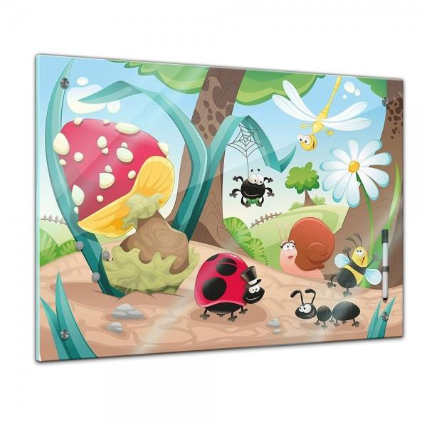Memoboard - Kinder - Krabbeltiere
