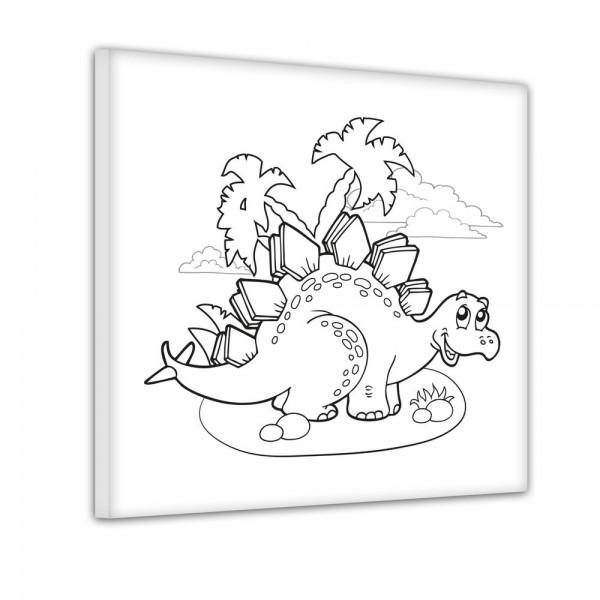 Stegosaurier - Ausmalbild