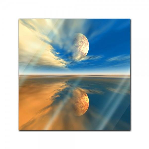 Glasbild - Himmel