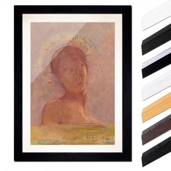 Odilon Redon - Mit geschlossenen Augen