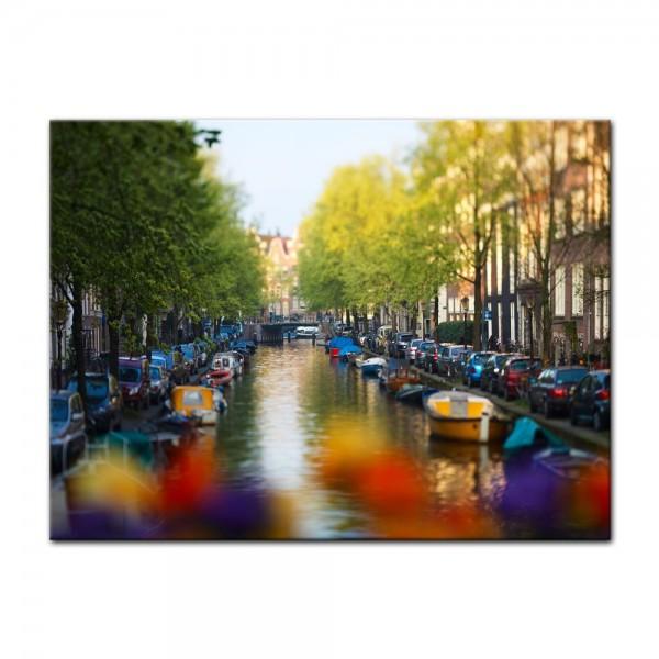 Leinwandbild - Amsterdam - Niederlande