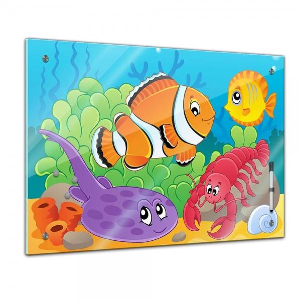 Memoboard - Kinder - Unterwasser Tiere VI