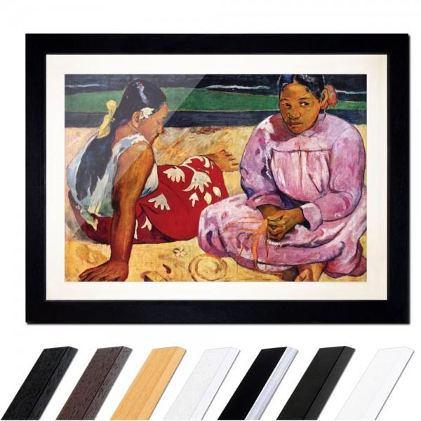Paul Gauguin - Frauen am Strand