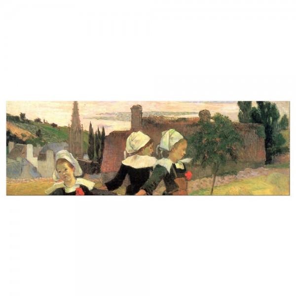 Leinwandbild - Paul Gauguin - Der Reigen der kleinen Bretonninen