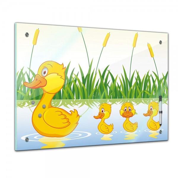 Memoboard - Kinder - Entenfamilie