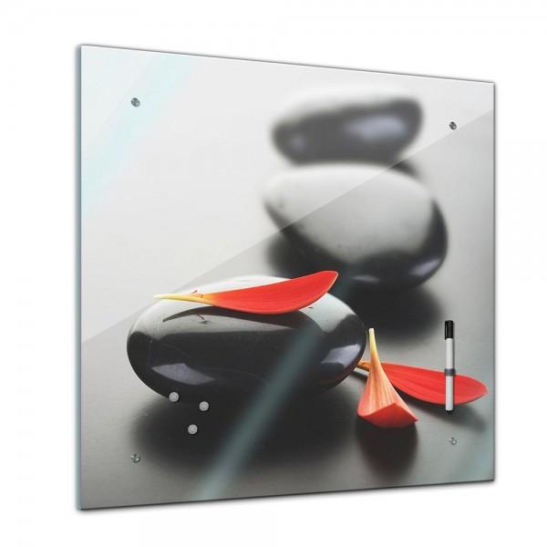 Memoboard - Geist & Seele - Zen Stein XIV - 40x40 cm