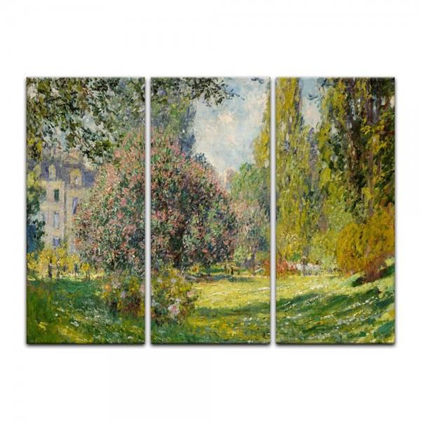 Leinwandbild - Claude Monet - Parc Monceau