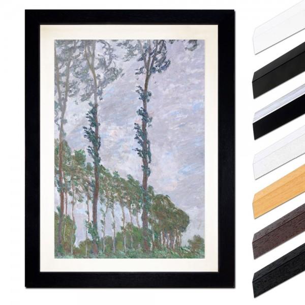Claude Monet - Pappel, Wind