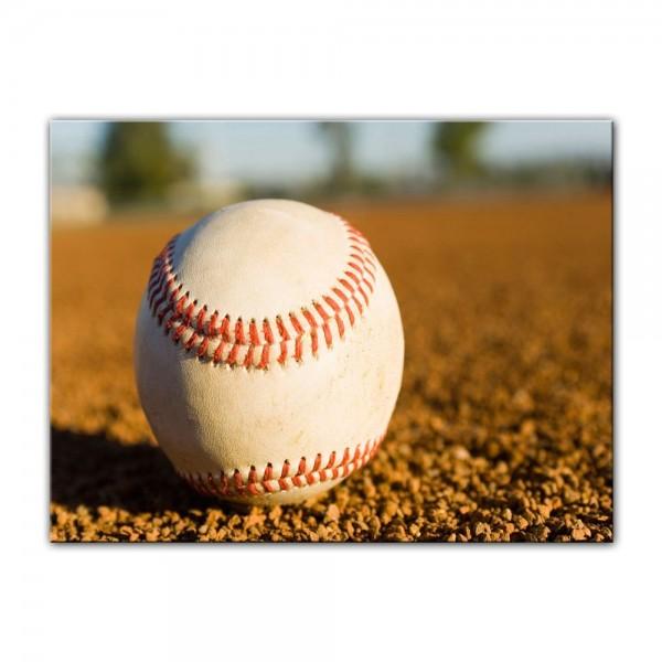 Leinwandbild - Baseball