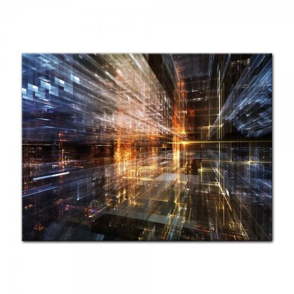 Leinwandbild - Abstrakte Kunst LVI