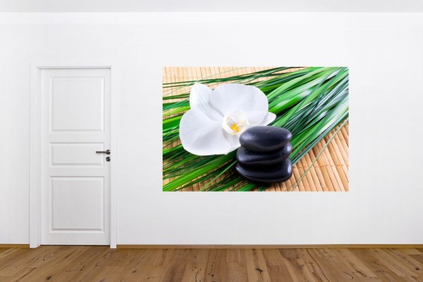 Fototapete - Zen Steine VI