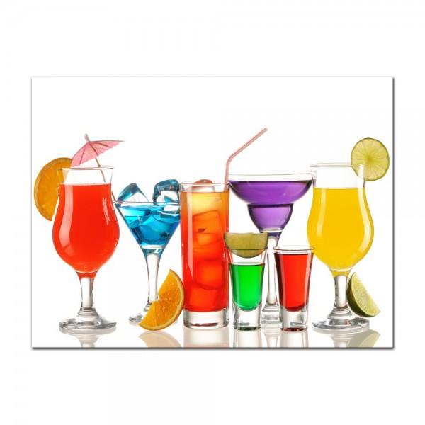 Leinwandbild - Cocktails III