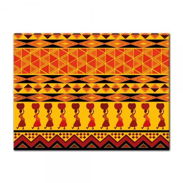 Leinwandbild - Afrika Design