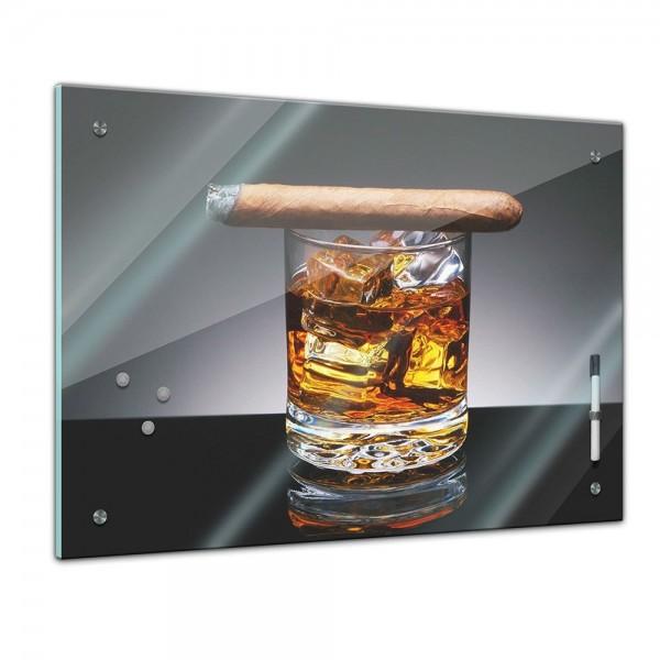 Memoboard - Männermotive - Zigarre am Drink