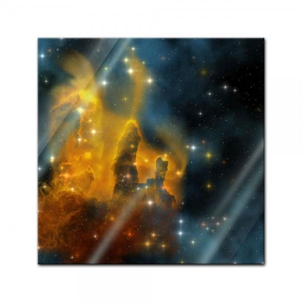 Glasbild - Nebula Galaxie