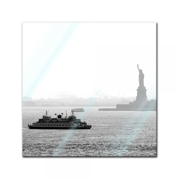 Glasbild - New York II