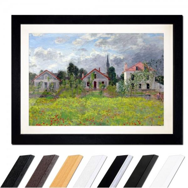 Claude Monet - Häuser in Argenteuil