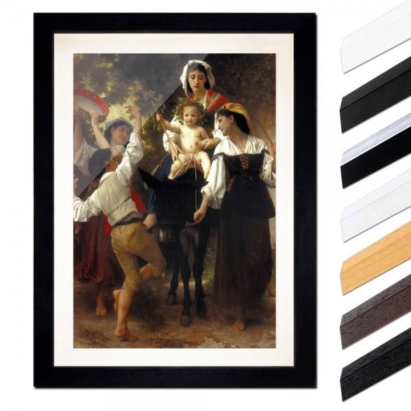 William-Adolphe Bouguereau - Rückkehr von der Ernte