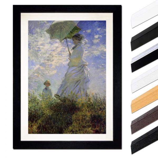 Claude Monet - Frau mit Sonnenschirm