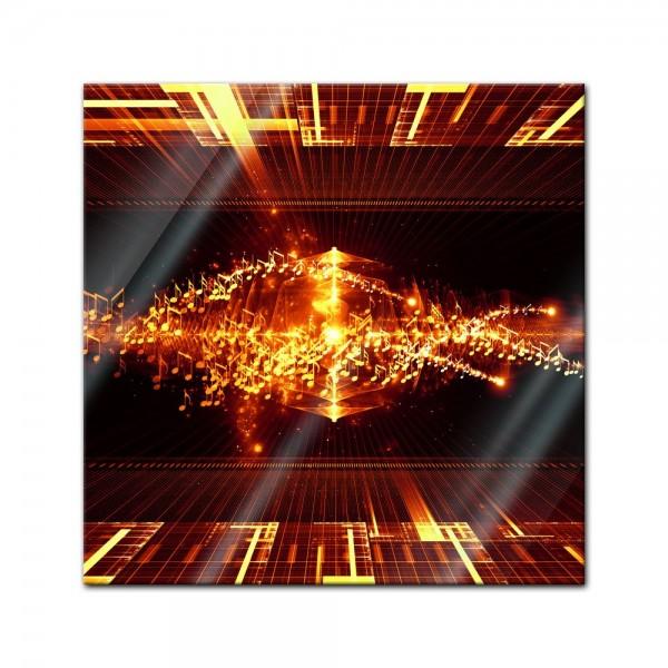 Glasbild - Abstrakte Kunst LI