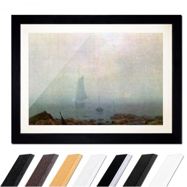 Caspar David Friedrich - Meeresstrand im Nebel