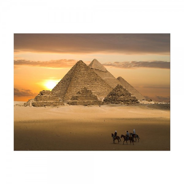 Leinwandbild - Pyramiden Fantasie