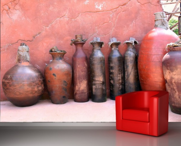 Fototapete Vasen Mediterran