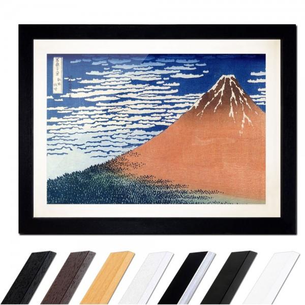 Katsushika Hokusai - Roter Fuji