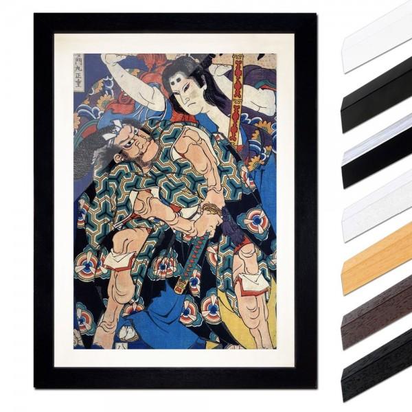 Katsushika Hokusai - Kusunuki Tamonmaru