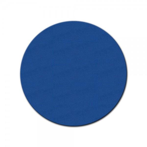 bemalbare Leinwand in blau - Rund