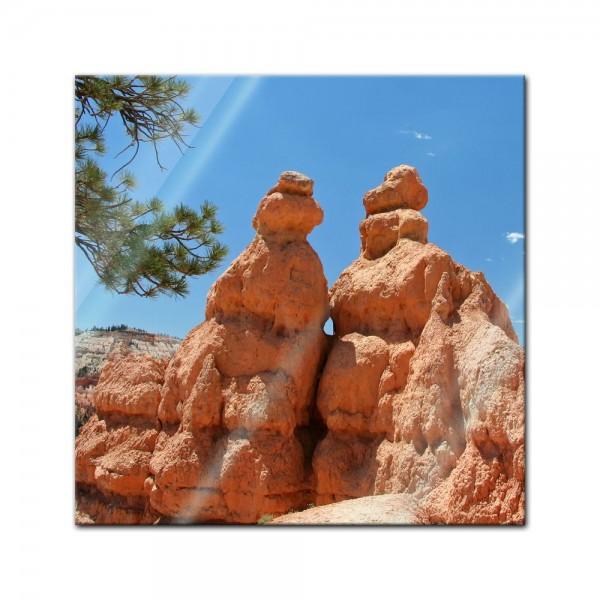 Glasbild - Bryce Canyon II