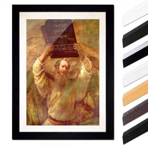 Rembrandt - Moses mit den Gesetzestafeln
