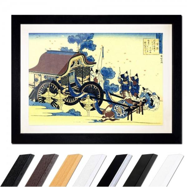 Katsushika Hokusai - Der Ochsenkarren