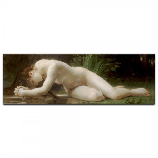 Leinwandbild - William-Adolphe Bouguereau - Biblis