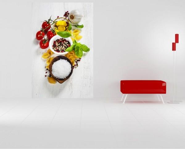 Fototapete - Italienische Pasta III