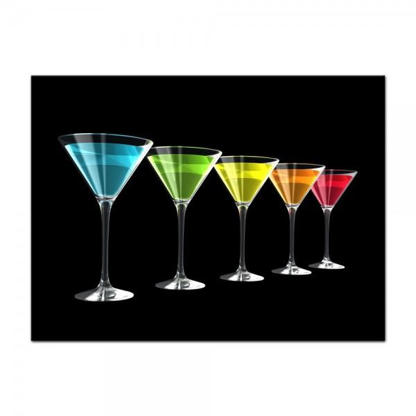 Leinwandbild - Cocktails II