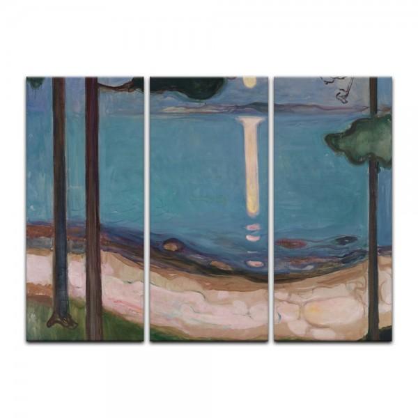Leinwandbild - Edvard Munch - Moonlight I