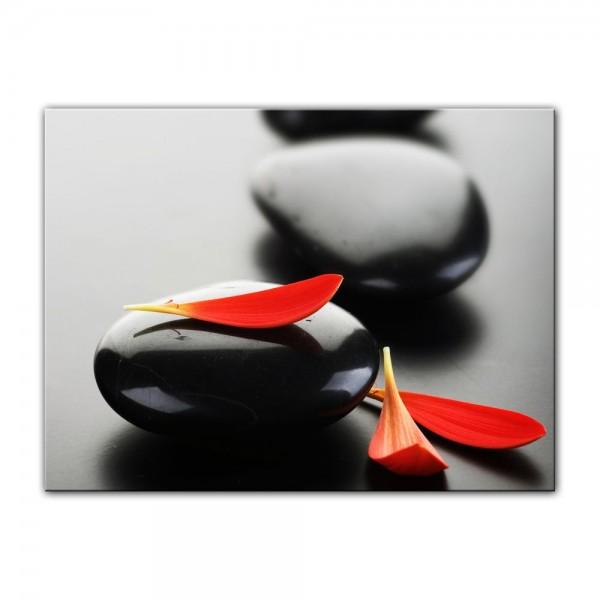 Leinwandbild - Zen Steine XIV