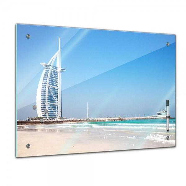 Memoboard - Landschaft - Burj al Arab - Dubai