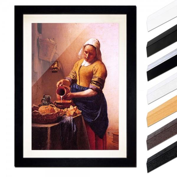 Jan Vermeer - Dienstmagd mit Milchkrug