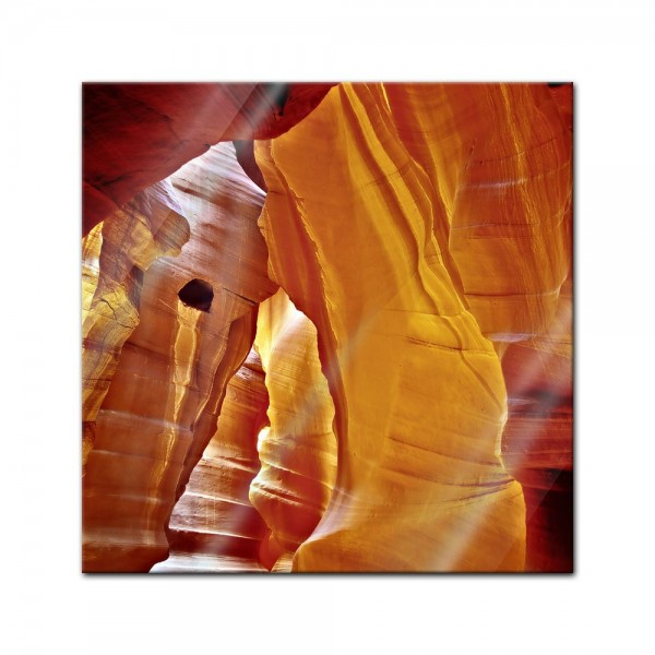 Glasbild - Antelope Canyon II