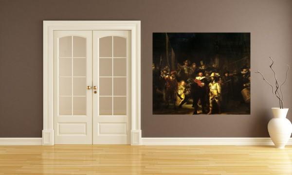 Fototapete Rembrandt - Alte Meister - Die Nachtwache