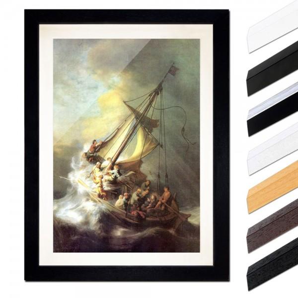 Rembrandt - Christus im Sturm auf dem See von Galilea