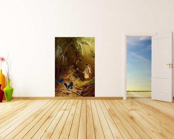 Fototapete Carl Spitzweg - Alte Meister - Der Schmetterlingsfänger