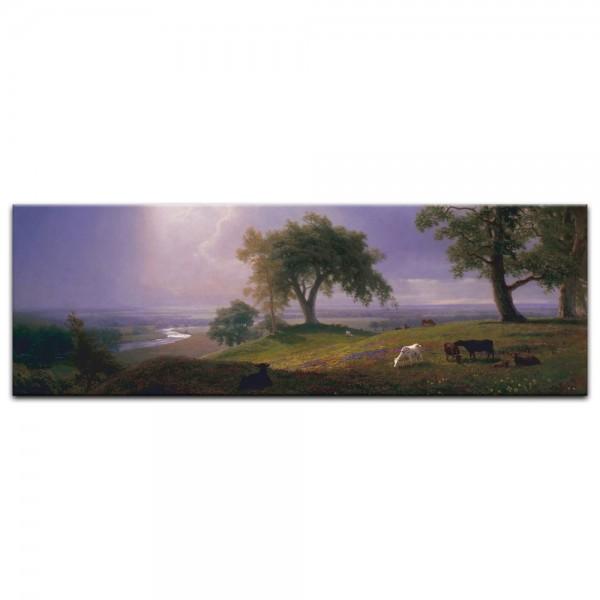 Leinwandbild - Albert Bierstadt - California Spring