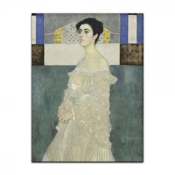 Leinwandbild - Gustav Klimt - Porträt der Margaret Stonborough-Wittgenstein