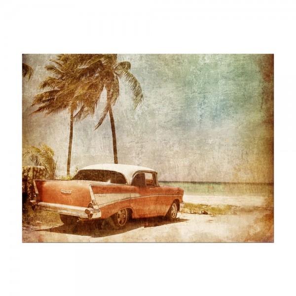Leinwandbild - Resort II - Cuba Oldtimer