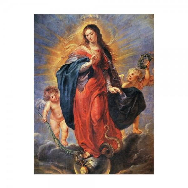 Leinwandbild - Peter Paul Rubens - Unbefleckte Empfängnis