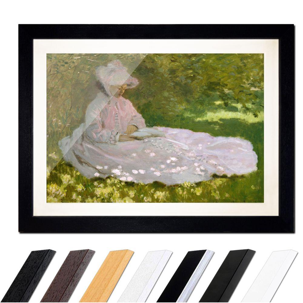 Claude Monet Die Lesende Bilderdepot24 De