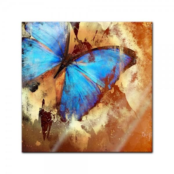 Glasbild - Schmetterling